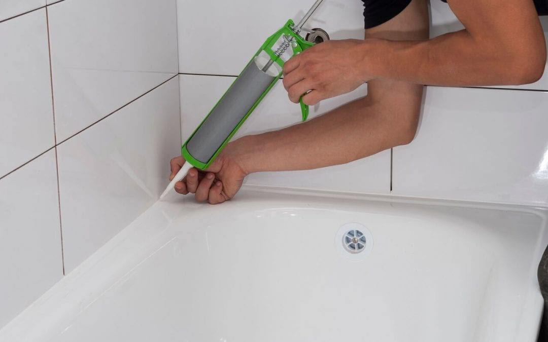 Reapplying sealants around the bathtub is one of the maintenance tasks you don't want to ignore