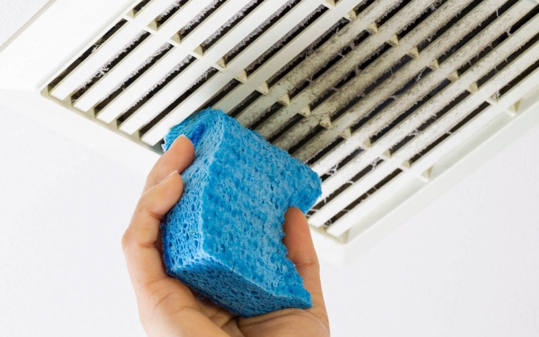 reduce cooling costs by keeping air vents clean